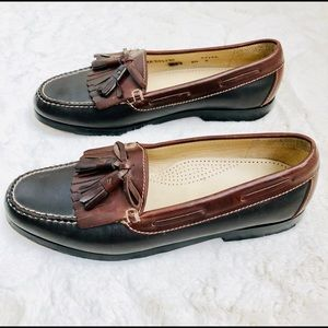 Cole Haan Tassel Leather Loafers Size 8.5